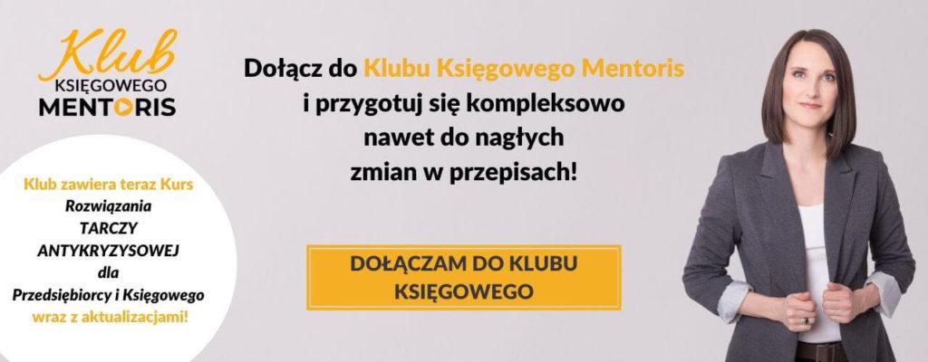 KLUB KSIĘGOWEGO MENTORIS Dołącz już teraz do 2. Edycji!