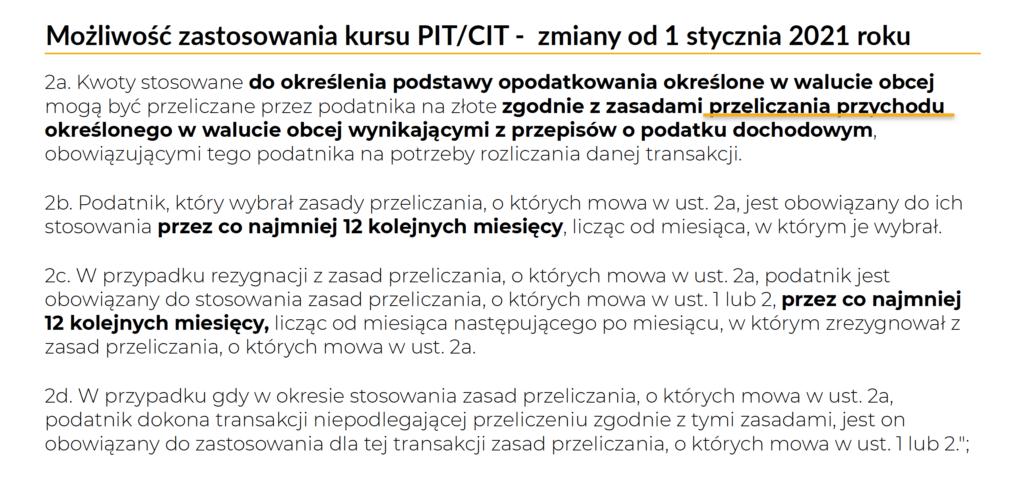 Kurs PIT/CIT dla celów VAT MENTORIS