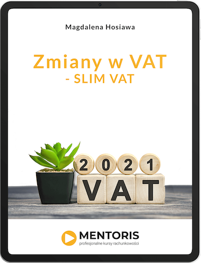 E-book: Zmiany w VAT - SLIM VAT okładka